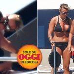 Francesca Pascale e Paola Turci: il bacio in barca tra la ex di Berlusconi e la cantante